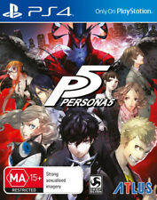 Persona 5 PS4 Game NEW