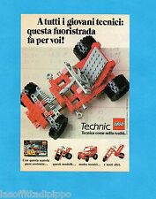TOP983-PUBBLICITA'/ADVERTISING-1983- LEGO TECHNIC