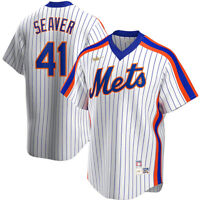 New Nike New York Mets Tom Seaver #41 Cooperstown Collection Replica Team Jersey