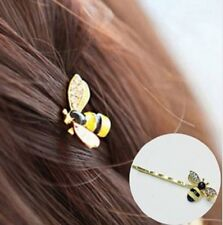Pair Of Bumble Bee Hair Clips Pins Slide Insect Fly Wasp Grip Pin 2 Two UK Store