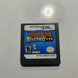 Diddy Kong Racing DS (Nintendo DS, 2007) Tested, Working Authentic Cart Only