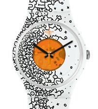 Swatch New Gent Orange Pusher SUOW167, Neuware, Selten