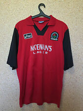 AASICS X BLACKBURN ROVERS Away Football Shirt 1994-95 Size - Extra Large GlyEz
