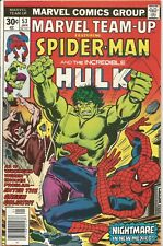 MARVEL TEAM-UP # 53 - JANUARY 1977 - SPIDERMAN AND THE HULK