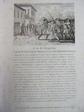 J.B.W POQUET Capitaine de la 40e Compagnie de Vétérans, né en 1745
