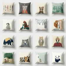 Sofa Cushion Throw Pillow Decor 18'' Polyester Case Home Waist Cover