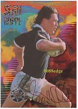 1996 CARD CRAZY NZ SIGNATURE REDEMPTION: SEAN HOPPE #43/50 AUTOGRAPH ULTRA RARE