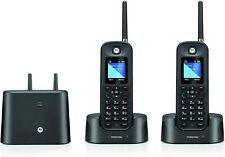 Motorola Water-Resistant Cordless Telephone w/Answering Machine -2 Handsets(903)
