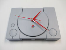 Sony Playstation One PS1 Wall Clock Man Cave Gift Retro Console Time Piece PSX