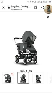 Bugaboo Donkey 3 Mono Complete Stroller, Expandable Stroller - NEW/Open Box