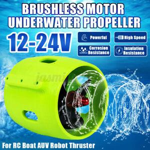 12V-24V 20A Unterwassermotor Motor Thruster Propeller Set Für ROV RC Köder Boot