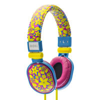 Moki Popper Headphones ALOHA Hawaiian Style Flowers NEW