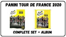 Panini Tour de France 2020 book + complete set