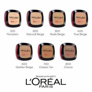 L'Oreal Paris Infallible Pro-Matte Powder 16 Hour 0.31 oz. Choose Your Shade