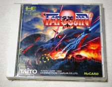 rare NEC PC ENGINE Hu card TATSUJIN shooter Japan TG-16 USED TAITO #2