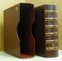LIGHTHOUSE: COIN SLAB ALBUM + DUST CASE - RED - HOLDS  54 SLABS    LH-SLAB54RED