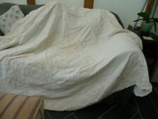 "Bed Throws Beige 72""x90""x2 and 2 Sham Pillow cases"