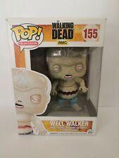 Rare Well Walker Zombie The Walking Dead Funko Pop! Vinyl #155