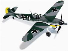 HO Busch 25010 Messerschmitt Bf 109 F4 WWII Airplane (Fischer) use w/ MiniTanks