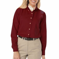 Cotton Button-Down Casual Tops for Women