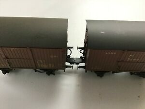 OO Railway 5 PAIRS MAGNETIC COUPLERS / COUPLINGS for Nem pockets,