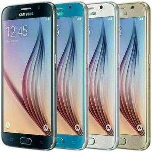 Samsung Galaxy S6 SM-G920 - 32GB - GSM Unlocked Smartphone 9/10 - SBI
