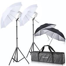 Neewer Off Camera Double Speedlight Flash ShoeMount Swivel Soft Umbrella Kit