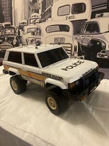 Vintage Classic 2 Dr Police Range Rover ELECON 4WD RC