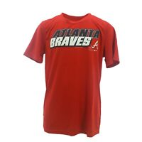 Atlanta Braves Official MLB Genuine Kids Youth Size Athletic T-Shirt New Tags