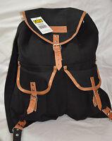 World famous 19 inches vintage rucksack black 31 ltr ( ref#bte37 )