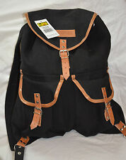 World famous 19 inches vintage rucksack black 31 ltr ( ref#bte37 )