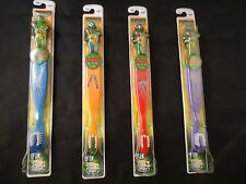 Teenage Mutant Ninja Turtles Kid's Toothbrush Set of 4 Fox 2003 Series TMNT NEW!