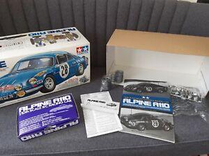 Tamiya vintage m chassis m01 m02 box parts wheels manual alpine