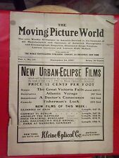 Very Rare The Moving Picture World Magazine September 28, 1907 (Vol 1 Number 13)