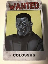 Marvel Heroclix Colossus Wanted ID Card Bounty Month 2 Days of Future Past New