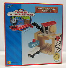 Thomas & Friends, Sodor Cargo Crane, BROWN LABEL, Britt Allcroft 1997, NIP