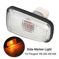 12V Side Marker Indicator Light Repeater Lamp For Peugeot 106 306 406 806  <