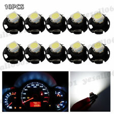 10x White T3 Neo Wedge LED Bulb Dash Control Instrument Cluster Panel Lamp Light