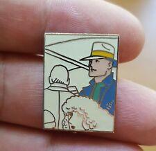 Pin S Moebius 1989 Signé MARVEL DIM 19X25 mm Jean Giraud