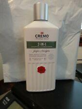 CREMO 2 in 1 Shampoo & Conditioner Juniper & Eucalyptus 16oz New