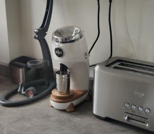 Niche Zero Coffee Grinder - White - UK Plug