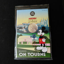 PIECE 10 EUROS ARGENT 2018  - MICKEY SILENCE ON TOURNE  - NEUF SOUS BLISTER