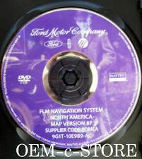 2007-2009 Lincoln Navigator MKX Ford Pickup Expedition Edge Navigation DVD V 8P