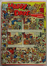 Happy Days A Century of Comics Denis Gifford 1st Ed HCDJ 1975  World Collector