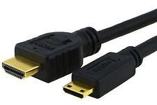 NUOVO qualità Mini HDMI tipo C Cavo Per Canon IXUS 125 240 255 500 HS 510