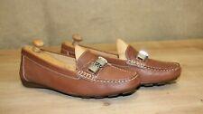 Mocassins loafers femme GEOX Respira cuir marron pointure 37