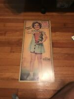 SHIRLEY TEMPLE QUAKER PUFFED WHEAT ADVERTISEMENT THIS IS MY CEREAL 25x11
