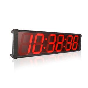 Big Digital LED Wall Clock Large Indoor Race timing clock Timer Modern Stopwatch
