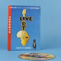 Live 8 Toronto Concert DVD - Neil Young - Bryan Adams - Motley Crue - GUARANTEED