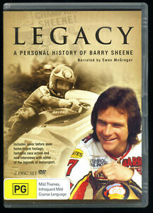 Legacy - A Personal History of Barry Sheene (DVD, 2007, 2-Disc Set) Motorbike GP